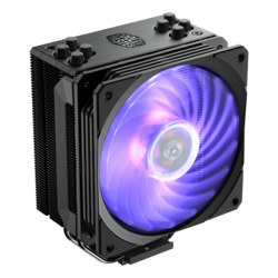 Hyper 212 RGB Black Edition, 158.8mm Height, 150W TDP, Aluminum CPU Cooler