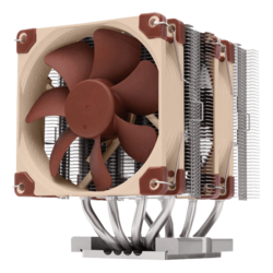 NH-D9 DX-3647, 134mm Height, 205W TDP, Copper/Aluminum CPU Cooler