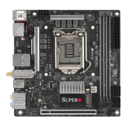 SUPERO Core Gaming C9Z390-CG-IW, Intel Z390 Chipset, LGA 1151, HDMI, Mini-ITX Motherboard