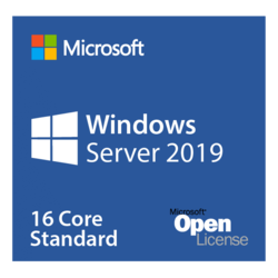 Windows Server 2019 Standard - Open License, 16 Core