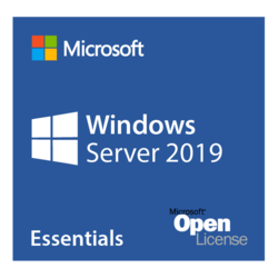 Windows Server 2019 Essentials - Open License for Government, 1 server