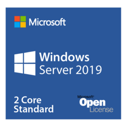Windows Server 2019 Standard - Open License for Government, 2 Core