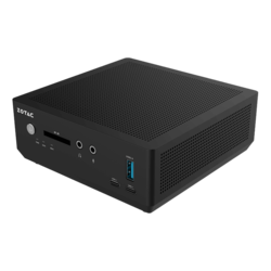 "ZBOX MI660 nano PLUS, Intel® Core™ i7-8550U, 2x DDR4 SO-DIMM (4GB Pre-installed), 2.5"" HDD/SSD (120GB pre-installed), Intel® UHD Graphics 620, Mini PC Barebone"