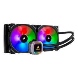 Hydro H115i RGB PLATINUM, 280mm Radiator, Liquid Cooling System