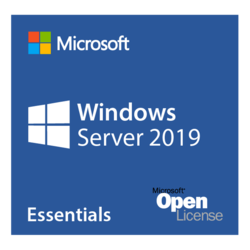 Windows Server 2019 Essentials - License and Media, 25 user, 1 Server, 2 CPU