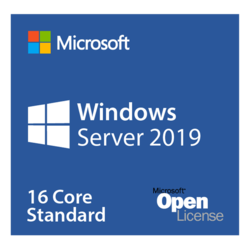Windows Server 2019 Standard - Base License and Media, 16 Core