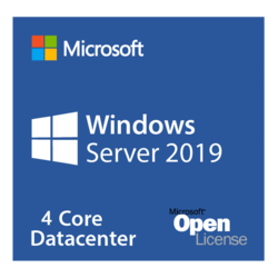 Windows Server 2019 Datacenter - License, 4 Additional