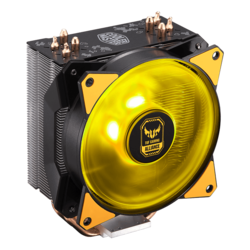 MasterAir MA410P TUF Gaming Edition, 158.5mm Height, 150W TDP, Copper/Aluminum CPU Cooler