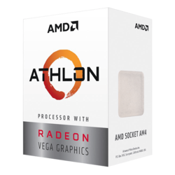 Athlon™ 240GE 2-Core 3.5GHz, Radeon Vega 3 Graphics, AM4, 35W TDP, Retail Processor