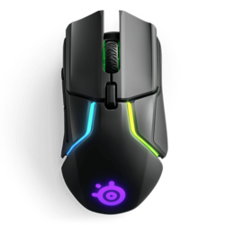 Rival 650, RGB LED, 12000cpi, Wireless USB, Black, Optical Gaming Mouse
