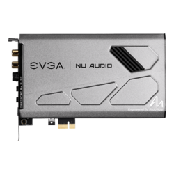 Nu Audio, Internal, 5.1 channels via S/PDIF, 32-bit 384 kHz, w/ Amplifier, PCI Express, Sound Card