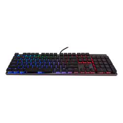 SK650, RGB LED, Cherry MX RGB Low Profile Switch, Wired USB, Gunmetal Black, Mechanical Gaming Keyboard