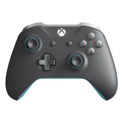 WL3-00105, Xbox and PC, Wireless Bluetooth, Gray/Blue, Joystick