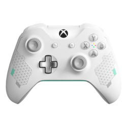 WL3-00082, Xbox and PC, Wireless Bluetooth, Sport White, Joystick