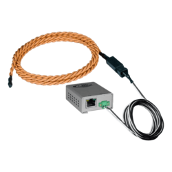 Legacy Liquid Detection Rope Sensor - Length 800 ft water sensor cable, 100 ft 2-wire cable