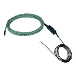 Chemical Detection Sensor, Rope-Style - Length 1 ft chemical sensor cable, 100 ft 2-wire cable