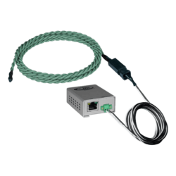 Legacy Chemical Detection Sensor, Rope-Style - Length 10 ft chemical sensor cable, 100 ft 2-wire cable