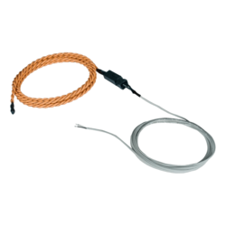 Liquid Detection Sensor, Plenum Rope-Style - Length 200 ft water sensor cable, 20 ft 2-wire cable