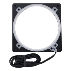 PH-FF140RGBA_BK01 Halos Lux RGB Fan Frame High density LEDs RGB 140mm fan mounting