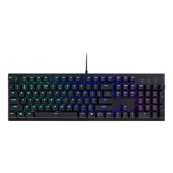 CK552, RGB LED, Red Switches, Wired USB, Black, Mechanical Gaming Keyboard