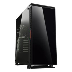 Equilence Tempered Glass, No PSU, ATX, Black, Mid Tower Case