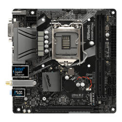 B365M-ITX/ac, Intel B365 Chipset, LGA 1151, HDMI, Mini-ITX Motherboard