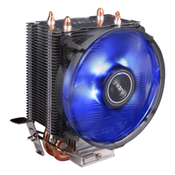 A30, 125mm Height, Copper/Aluminum CPU Cooler