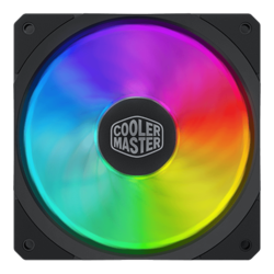 MasterFan SF120R ARGB 120mm, RGB LEDs, 2000 RPM, 59 CFM, 30 dBA, Cooling Fan