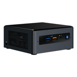 "NUC 8 Enthusiast NUC8i7BEHGA, Intel® Core™ i7-8559U, 2x DDR4 SO-DIMM (8GB pre-installed), M.2 (32GB Intel® Optane™ Memory pre-installed), 2.5"" HDD/SSD (2TB HDD pre-installed), Intel® Iris® Plus Graphics 655, Windows 10 Home, Mini PC"