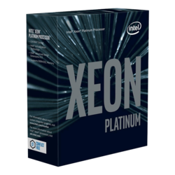Xeon® Platinum 8256 4-Core 3.8 - 3.9GHz Turbo, LGA 3647, 3 UPI, 105W, Processor