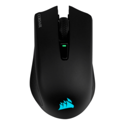 HARPOON RGB, 10000dpi, Wireless Bluetooth/USB, Black, Optical Gaming Mouse