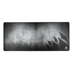 MM350 Premium (Extended XL), Anti-Fray, Cloth, Grey/Black, Gaming Mouse Mat