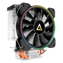 A400 RGB, 155mm Height, Copper/Aluminum CPU Cooler