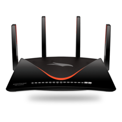 Nighthawk Pro Gaming XR700, IEEE 802.11ad, Tri-Band 2.4 / 5 / 60GHz, 800 / 1733 / 4600 Mbps, 10Gb 1xSFP+, 1GbE 6xRJ45, 2x USB 3.0, Wireless Router