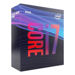 Core™ i7-9700 8-Core 3.0 - 4.7GHz Turbo, LGA 1151, 65W TDP, Retail Processor