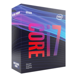 Core™ i7-9700F 8-Core 3.0 - 4.7GHz Turbo, LGA 1151, 65W TDP, Retail Processor