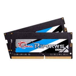 16GB Kit (2 x 8GB) Ripjaws DDR4 3200MHz, CL16, SO-DIMM Memory
