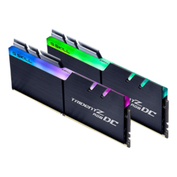 64GB Kit (2 x 32GB) Trident Z RGB DC DDR4 3200MHz, CL14 (14-14-14-34), Black, RGB LED, DIMM Memory