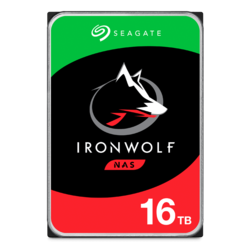 16TB IronWolf ST16000VN001, 7200 RPM, SATA 6Gb/s, 256MB cache, 3.5-Inch HDD