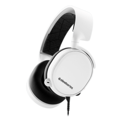 Arctis 3, Wired 3.5mm, White, Gaming Headset