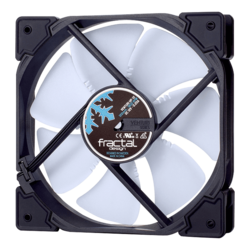 Venturi HP-12 PWM Black/White 120mm, 1800 RPM, 61.4 CFM, 31.7 dBA, Cooling Fan