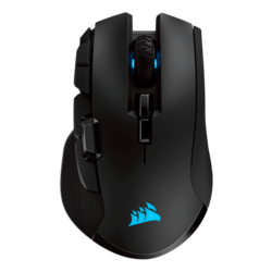 IRONCLAW, RGB LED, 18000dpi, Wireless USB, Black, Optical Gaming Mouse