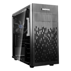 MATREXX 30 Tempered Glass, No PSU, microATX, Black, Mini Tower Case