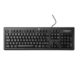Classic Wired Keyboard, RGB LED, Multimedia buttons, Wired USB, Black