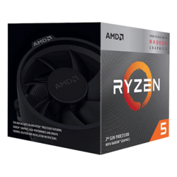 Ryzen™ 5 3400G 4-Core 3.7 - 4.2GHz Turbo, Radeon™ RX Vega 11 Graphics, AM4, 65W TDP, Retail Processor