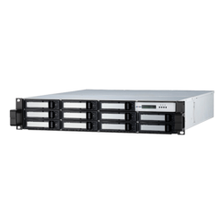 ARC-8050T3-12R-72WRP, 2U/12bay 72TB WD Red Pro 7200RPM SATA Drives, Thunderbolt™ 3 to 6Gb/s SATA Rackmount Hardware RAID, Dual 400W PSU