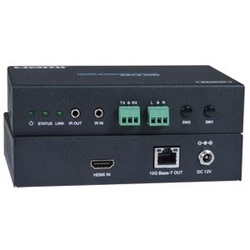 4K 18Gbps HDMI Extender Over IP with IR and RS232, Remote Unit
