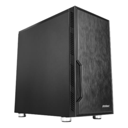 Value Solution Series VSK10, No PSU, microATX, Black, Mini Tower Case