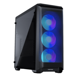 Eclipse Series P400A Digital, Tempered Glass, No PSU, E-ATX, Satin Black, Mid Tower Case