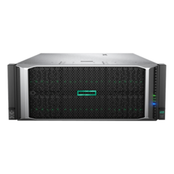 ProLiant DL580 Gen10 8SFF, 4U, Intel C621, 8x SAS/SATA, 48x DDR4, No PSU, Configure-to-order Server